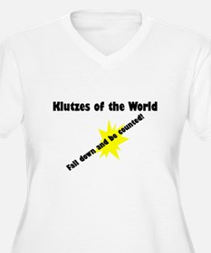 Klutzes of the World Fall Dow T-Shirt