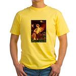 Angel / Irish Setter Yellow T-Shirt