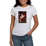 Angel / Irish Setter Women's T-Shirt