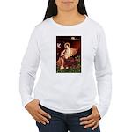 Angel / Irish Setter Women's Long Sleeve T-Shirt