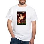 Angel / Irish Setter White T-Shirt
