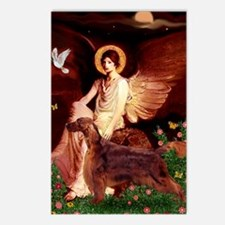Angel / Irish Setter Postcards (Package of 8)