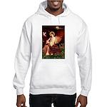 Angel / Irish Setter Hooded Sweatshirt