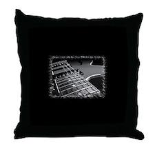 Electric Guitar 1 Throw Pillow