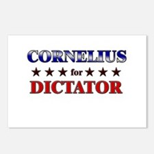 CORNELIUS for dictator Postcards (Package of 8)