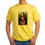 Mona /Irish Setter Yellow T-Shirt