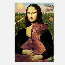 Mona /Irish Setter Postcards (Package of 8)