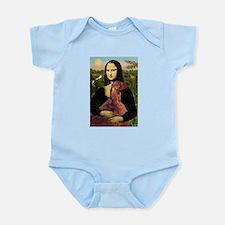 Mona /Irish Setter Infant Bodysuit