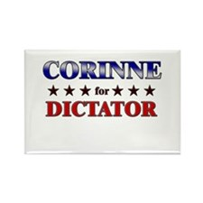 CORINNE for dictator Rectangle Magnet