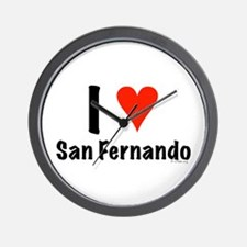 I love San Fernando Wall Clock