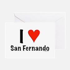 I love San Fernando Greeting Card