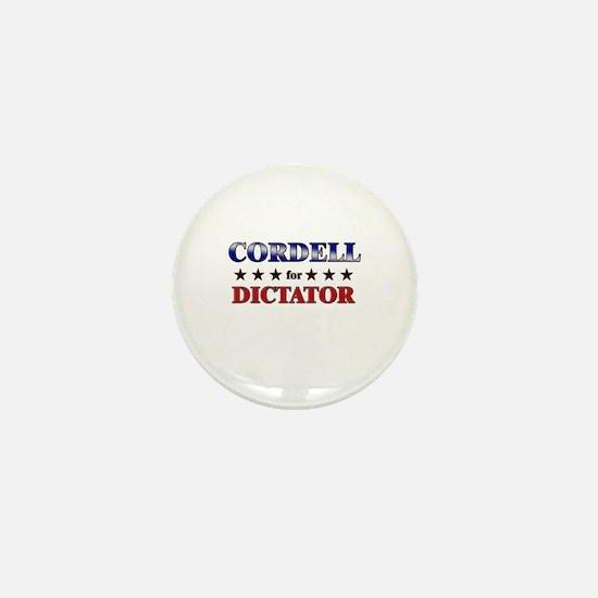 CORDELL for dictator Mini Button