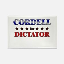 CORDELL for dictator Rectangle Magnet