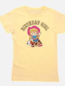 Cute Western theme birthday Girl's Tee