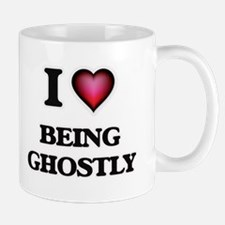 I Love Being Ghostly Mugs