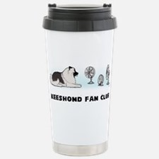 Cute Canine art Travel Mug