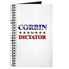 CORBIN for dictator Journal