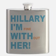 Funny Im fine Flask