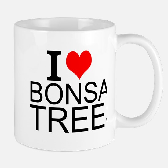 I Love Bonsai Trees Mugs
