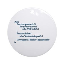 PHP Rocks! - Ornament (Round)