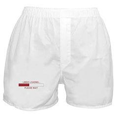 LIBIDO LOADING... Boxer Shorts