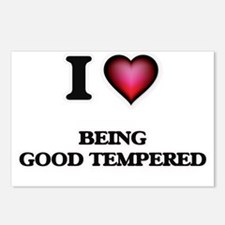 I Love Being Good Tempere Postcards (Package of 8)