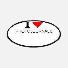 I Love Photojournalism Patch