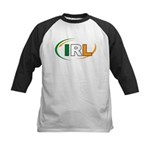 Country Code Ireland Kids Baseball Jersey