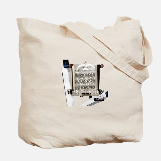 The Odyssey Warrior/Text Tote Bag