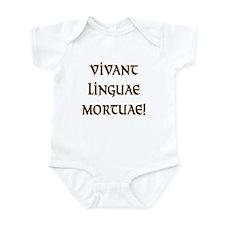 Long Live Dead Languages! Infant Bodysuit