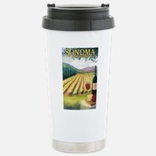 Cute Healdsburg california Travel Mug
