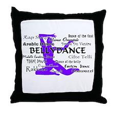 Funny The dance floor Throw Pillow