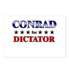 CONRAD for dictator Postcards (Package of 8)