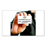 FocusGuitarCroped8x8.jpg Sticker