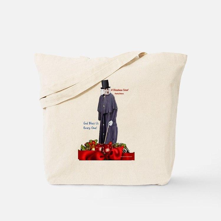 A Christmas Carol Scrooge Tote Bag