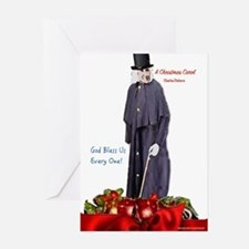 A Christmas Carol Scrooge Greeting Cards
