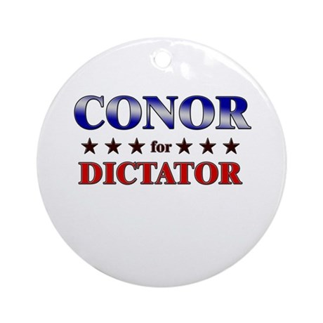 CONOR for dictator Ornament (Round)