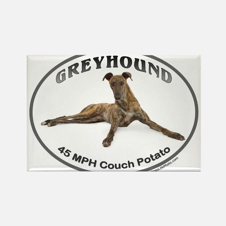 GVV Greyhound Couch Potato Magnets