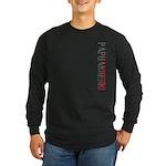 Papuaniugini Stamp Long Sleeve Dark T-Shirt
