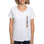 Papuaniugini Stamp Women's V-Neck T-Shirt