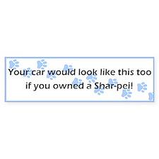 Your Car Shar-Pei Bumper Bumper Sticker