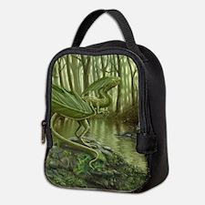 Earth Leaf Dragon Neoprene Lunch Bag