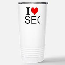 I Love SEO Travel Mug