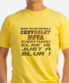Everything Else is a Blur Nova T-Shirt