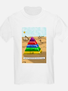 Pyramid Cartoon 9383 T-Shirt