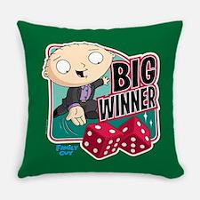 Family Guy Big Winner Everyday Pillow