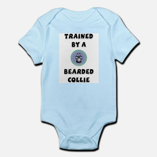 Trained by a Bearded Collie Infant Creeper