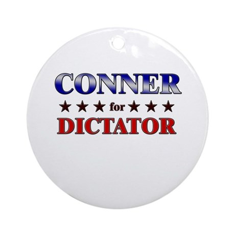CONNER for dictator Ornament (Round)