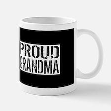Firefighter: Proud Grandma (Black Flag, Mug