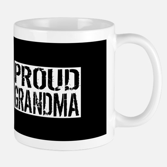 Firefighter: Proud Grandma (Black Flag, Mug